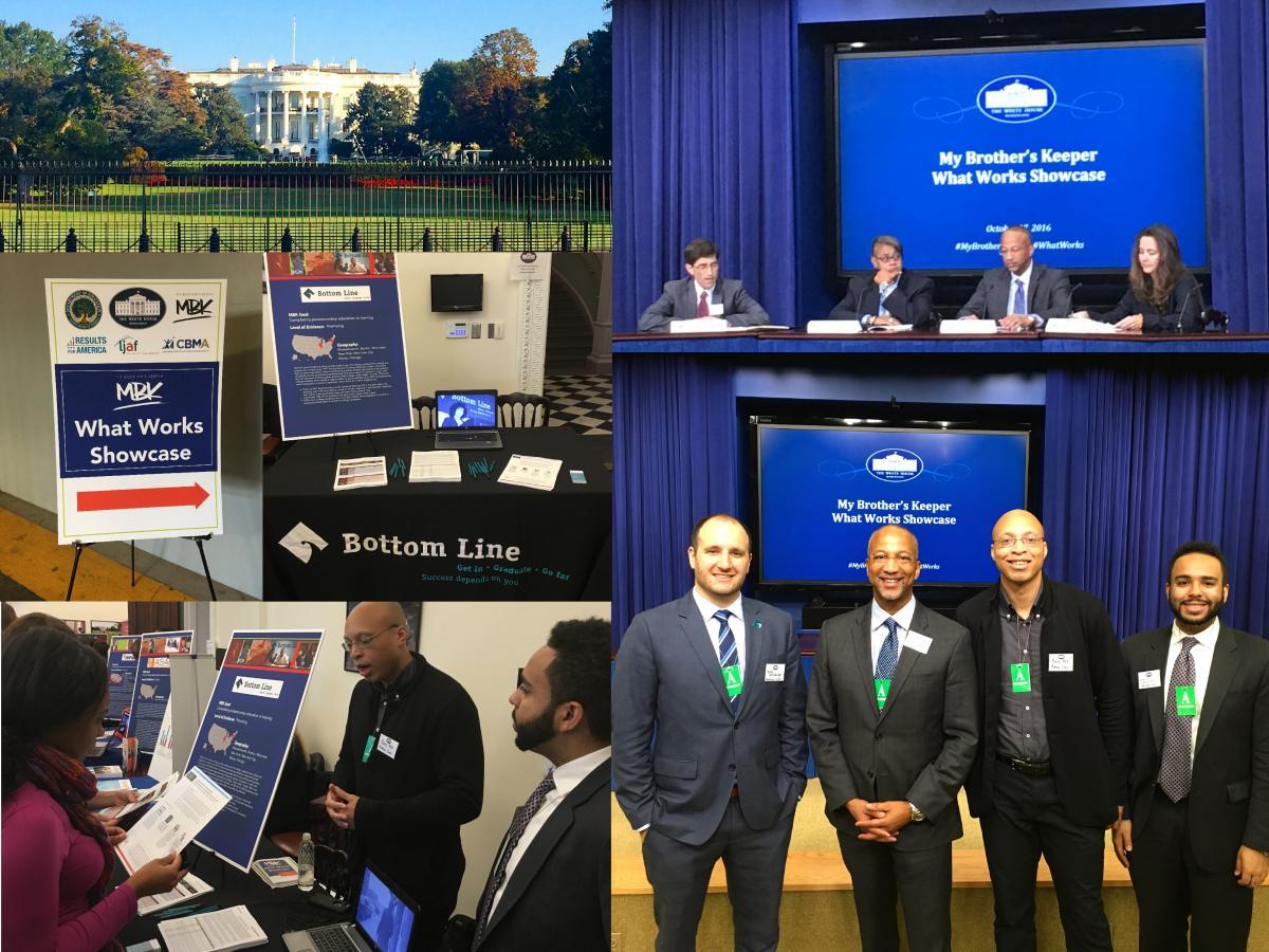 Bottom Line Showcased at the White House | Bottom Line